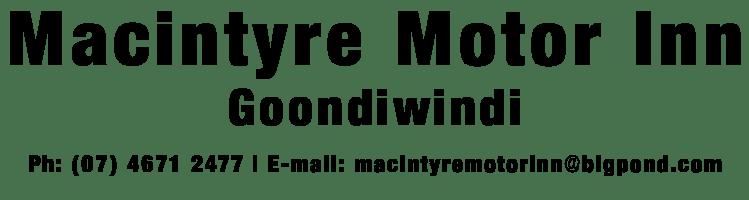 Macintyre Motor Inn – Accommodation Goondiwindi Logo